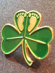 Irish for Life lapel pin